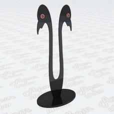 Подставка под серьги из оргстекла
