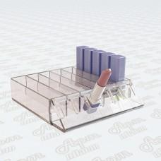 Пластиковая подставка накопитель под помады