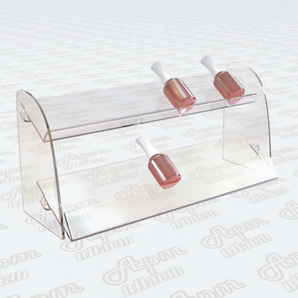 Подставка для лаков для ногтей на 2 яруса