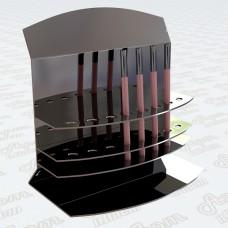 Акриловая подставка под косметические карандаши