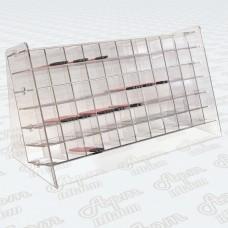 Акриловая подставка для косметических карандашей