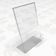 Рекламные подставки с визитницей Формата А5-150x210мм