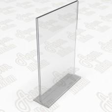 Тейбл тент. Формат 1/3 А4-105x210мм.