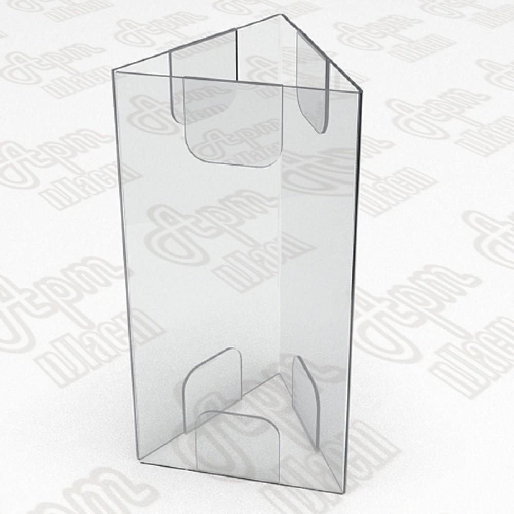 Тейбл тент на три плоскости. Формат А5-150x210мм