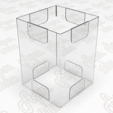 Тейбл тент на четыре плоскости. Формат 1/3 А4-105x210мм
