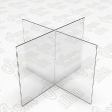 Тейбл тент на  восемь плоскостей. Формат 1/3 А4-105x210мм