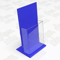 Буклетница настольная. Формат 1/3 А4-105x210мм.