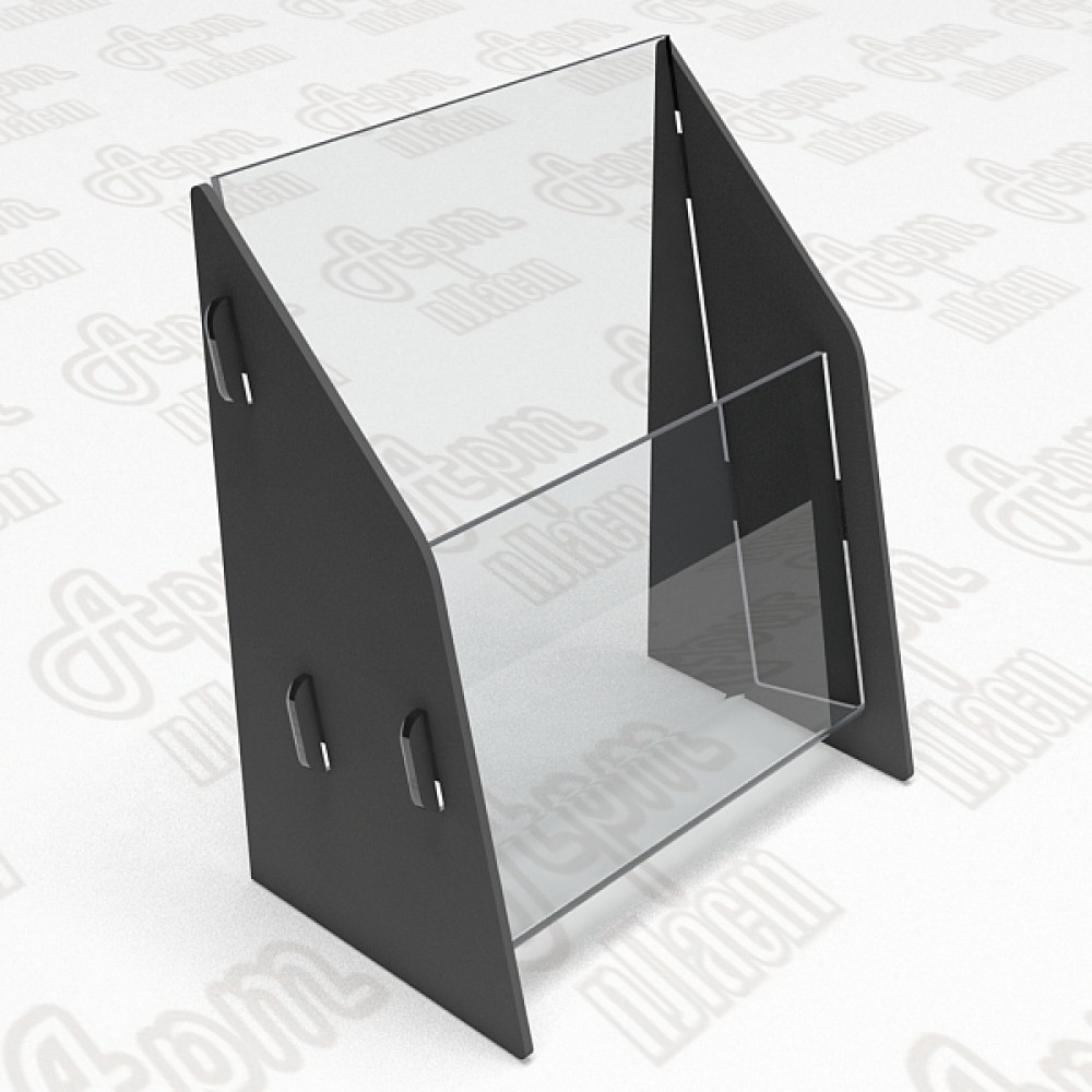 Буклетница. Формат 1/3 А4-105x210мм.