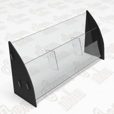 Холдер настольный на 3 секции. Формат 1/3 А4-105x210мм