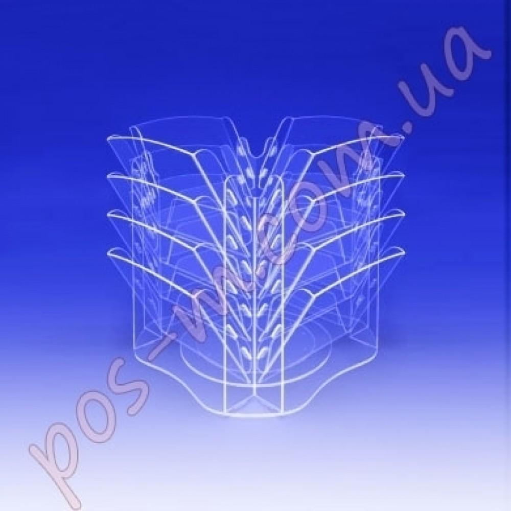 Информационная подставка на 16 секций. Формат А4-210x300мм