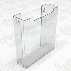 Карман объемный пластиковый. Формат 1/3 А4-105x210мм.