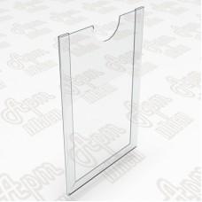 Карманы пластиковые. Формат А6-105x150мм.