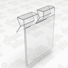 Ценникодержатели на крючки 60x40мм или 40x60мм