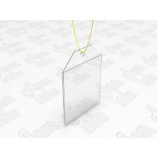 Ценникодержатель для мебели 60x40мм или 40x60