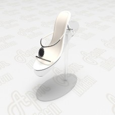 Пластиковая подставка для обуви.